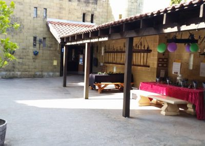 Courtyard Birthday Area