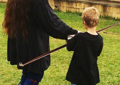 Archery Sir Justyn