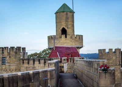 Castle Tour upper walkway