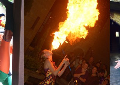 ET Circus fire breathing