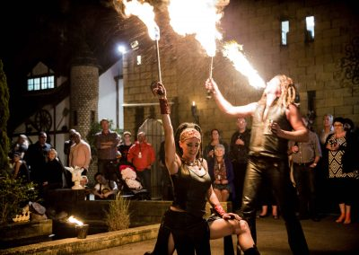Corporate Function Fire Show