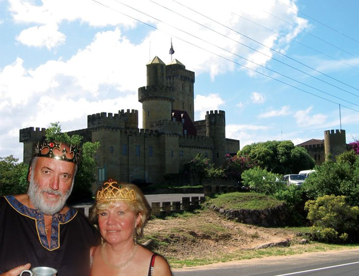 King Bernad and Queen Margeret, the new owners with a grand plan for upgrades to the castle grounds.