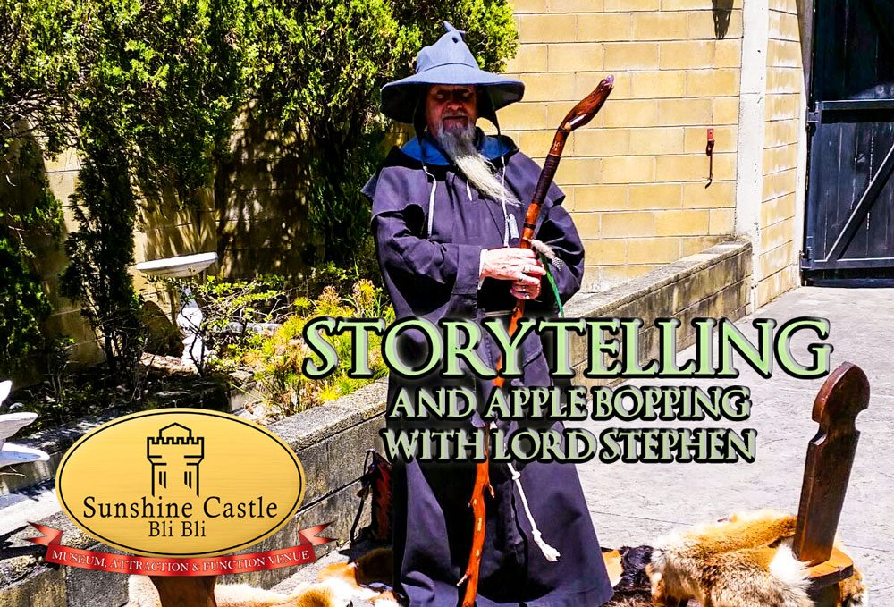 Storytelling and Apple Bopping with Lord Stephen