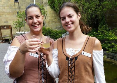 Castle wench maiden waitress