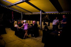 Castle Terrace night function area