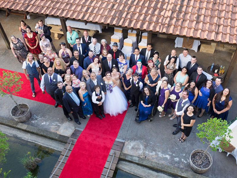 My wedding wish - group wedding photo