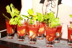 Function food canapes