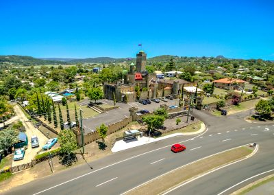 Sunshine Castle Drone Shot (Landscape)
