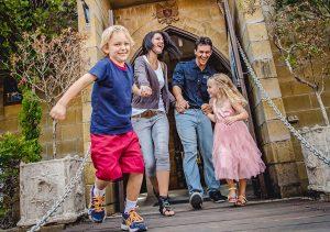 Castle Drawbridge family