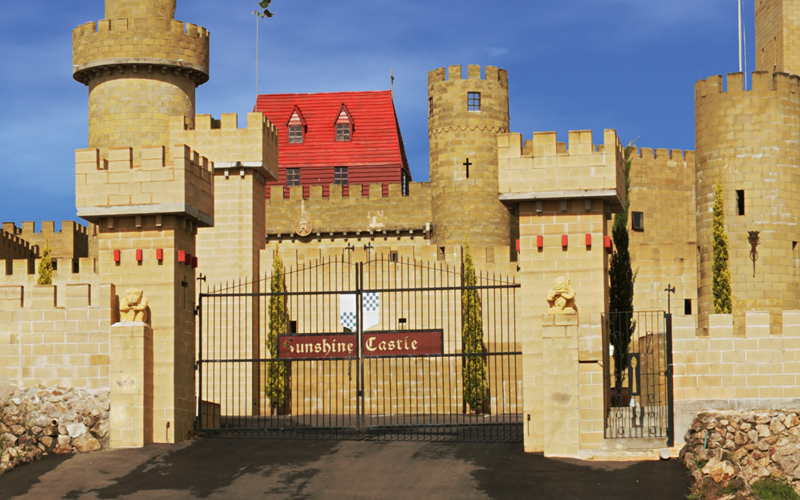 HEAR YE! Sunshine Castle will be moving to seasonal opening times