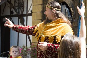 What's on: Sir Justyn at the Castle
