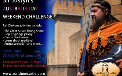Australia Day Challenge Weekend at Sunshine Castle